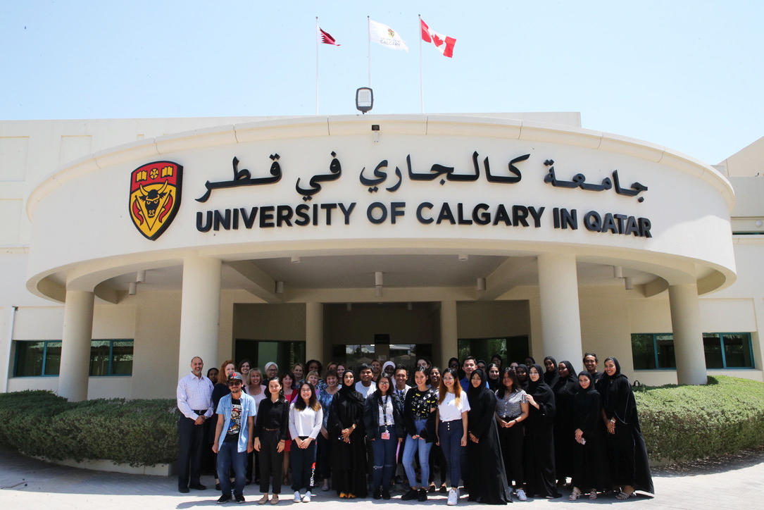 Faculty and student volunteers to the IAAF World Athletics Championships Doha 2019.