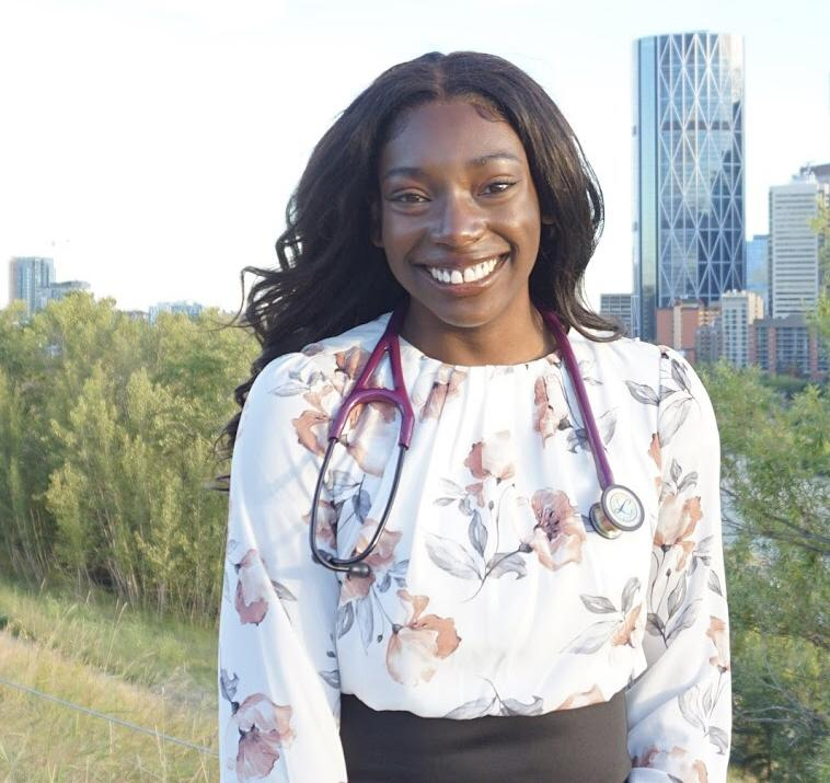 University of Calgary student Whitney Ereyi-Osas has been involved with the RISE program for years.