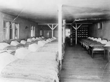Boys Dormitory, St. Joseph's Indian Industrial School, High River, Alberta, date unknown.